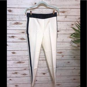 NWT Zara White And Black Pants Size m